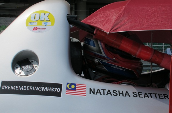 REMEMBRANCE: Natasha Seatter's thoughts are with the passengers and crew of the missing MAS flight MH370.