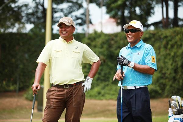 Mardan Mamat (left) with Maybank Chairman, Tan Sri Dato? Megat Zaharuddin Megat Mohd Nor