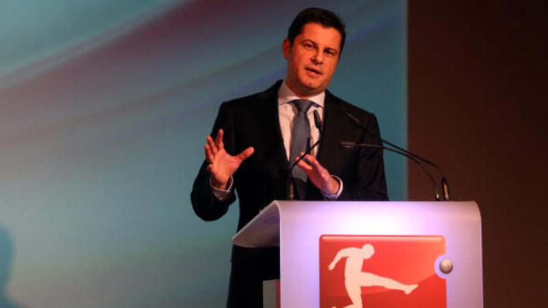 Seifert, CEO of the German Football League (DFL)