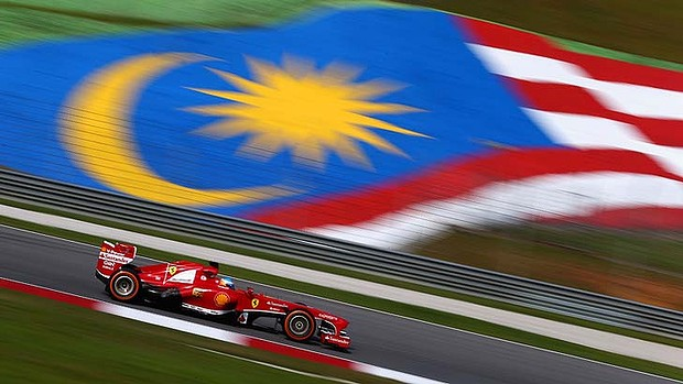 Malaysian Formula One Grand Prix. Photo: Getty Images Read more: http://www.smh.com.au/sport/motorsport/malaysia-grand-prix-to-go-ahead-despite-missing-jet-saga-20140318-hvjwk.html#ixzz2xPrY2mqq