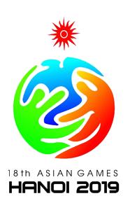 18th Asian Games ASIAD 2019 Logo