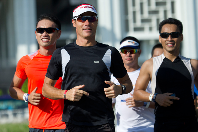 Three time IRONMAN World Champion and two time IRONMAN 70.3 World Champion, Craig Alexander (AUS) has been a huge hit with athletes getting ready to race IRONMAN 70.3 Putrajaya 2014