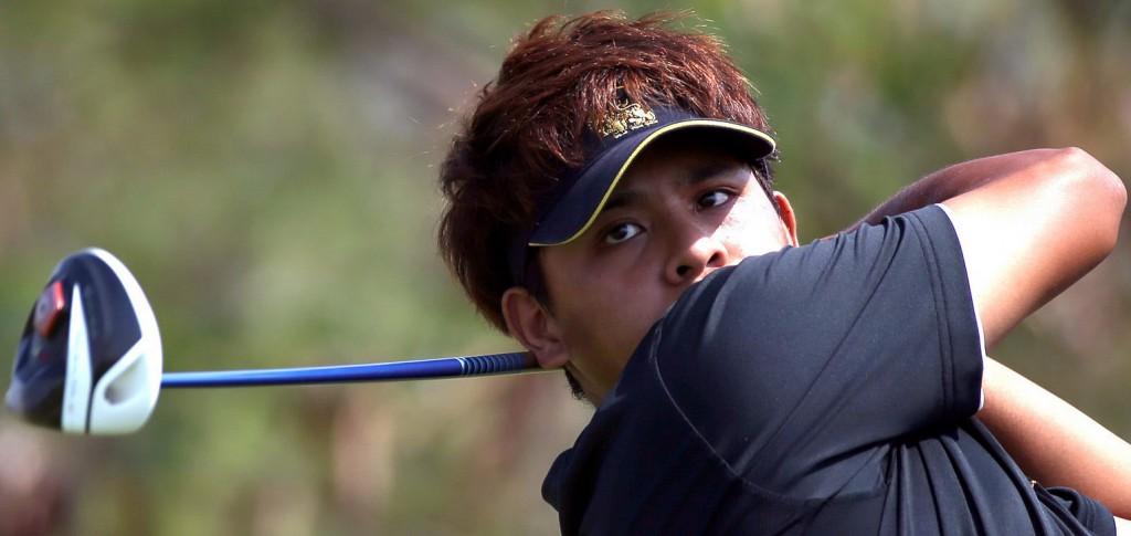 """The ASEAN PGA Tour has been a big help to me,"" - Gunn Charoenkul"
