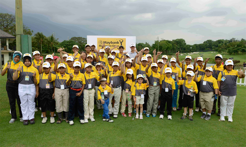 The Maybank Junior Golf – National Camp was introduced in 2006 and is a yearly event which gathers some of the nation's best junior golfers under one roof.