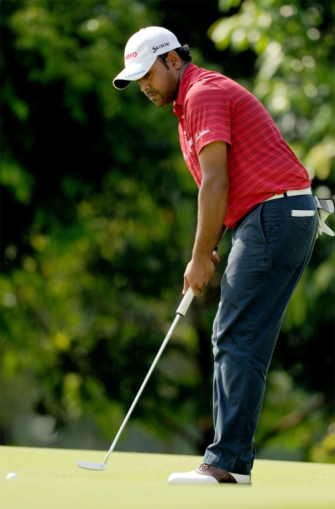 Anirban Lahiri picked up some valuable lessons en route to the day's joint lowest score following a superb six-under-par 66 at the Maybank Malaysian Open on Saturday