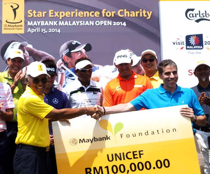 Maybank Malaysian Open 2014 - Golf Pros and Amateurs Come Together for Charity