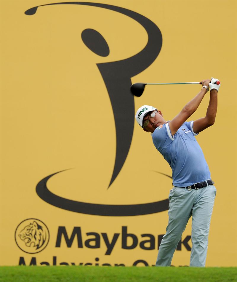 Nicholas Fung, Malaysia's top-ranked golfer.