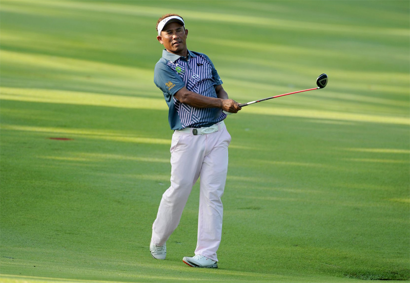 Fresh from a tied 37th finish at the Masters Tournament, Thongchai will have to wait for another year to challenge for a third Malaysian Open crown.