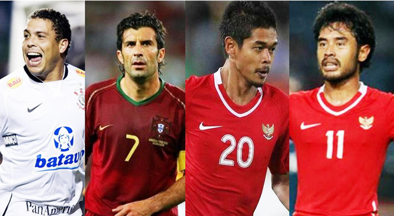 Ronaldo, Figo and Friends to do Battle in Jakarta