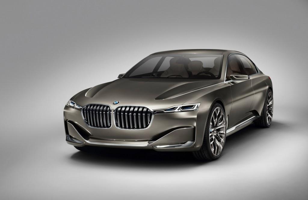 BMW Vision Future Luxury concept, 2014 Beijing Auto Show
