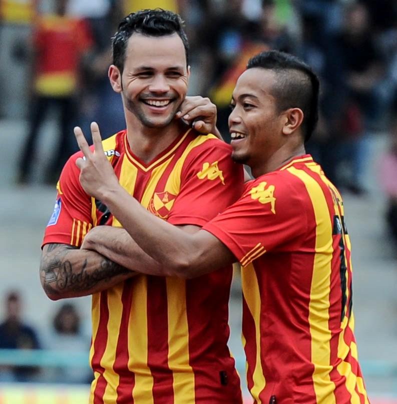 Football Association of Selangor (Persatuan Bolasepak Selangor) - Paulo Rangel(left) & Andik Vermansyah
