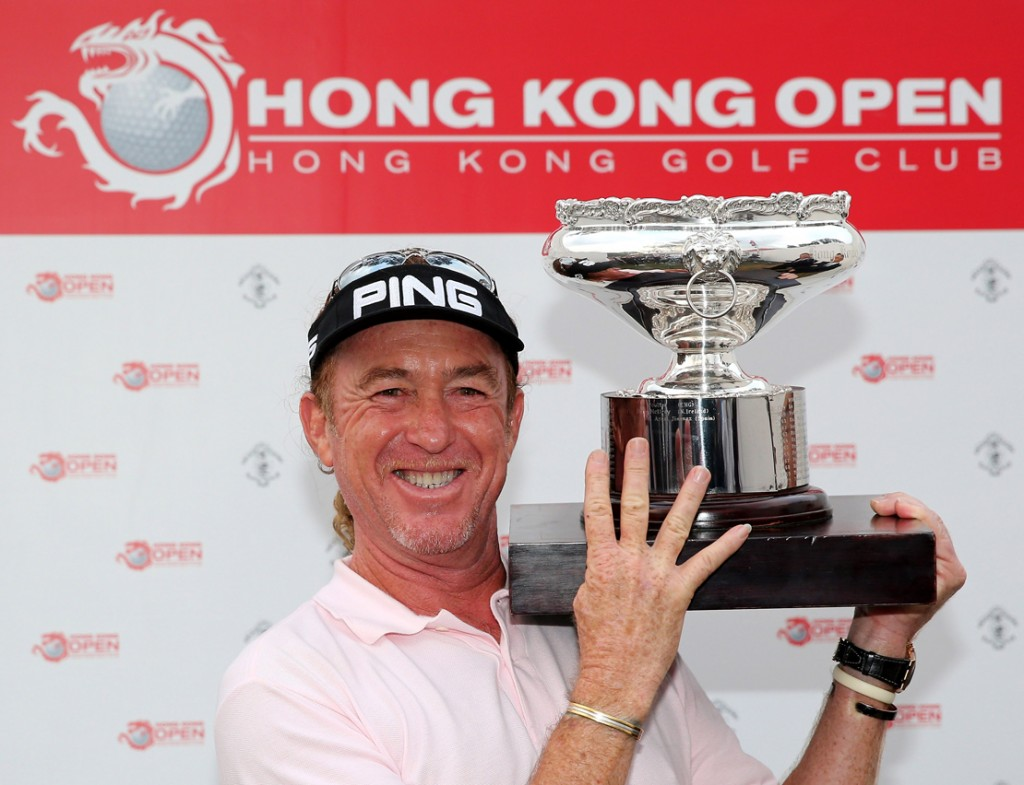 Hong Kong Open - Miguel Angel Jiménez