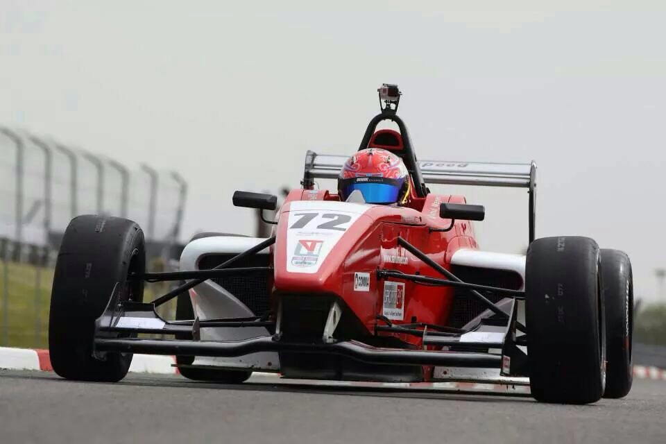 Rahul Mayer's second round of the BRDC Formula 4 which was held from Friday, 16th to Sunday, 18th May at the famous Brands Hatch Indy Circuit in Kent revealed an up and down weekend for this 17 year old Malaysian driver.