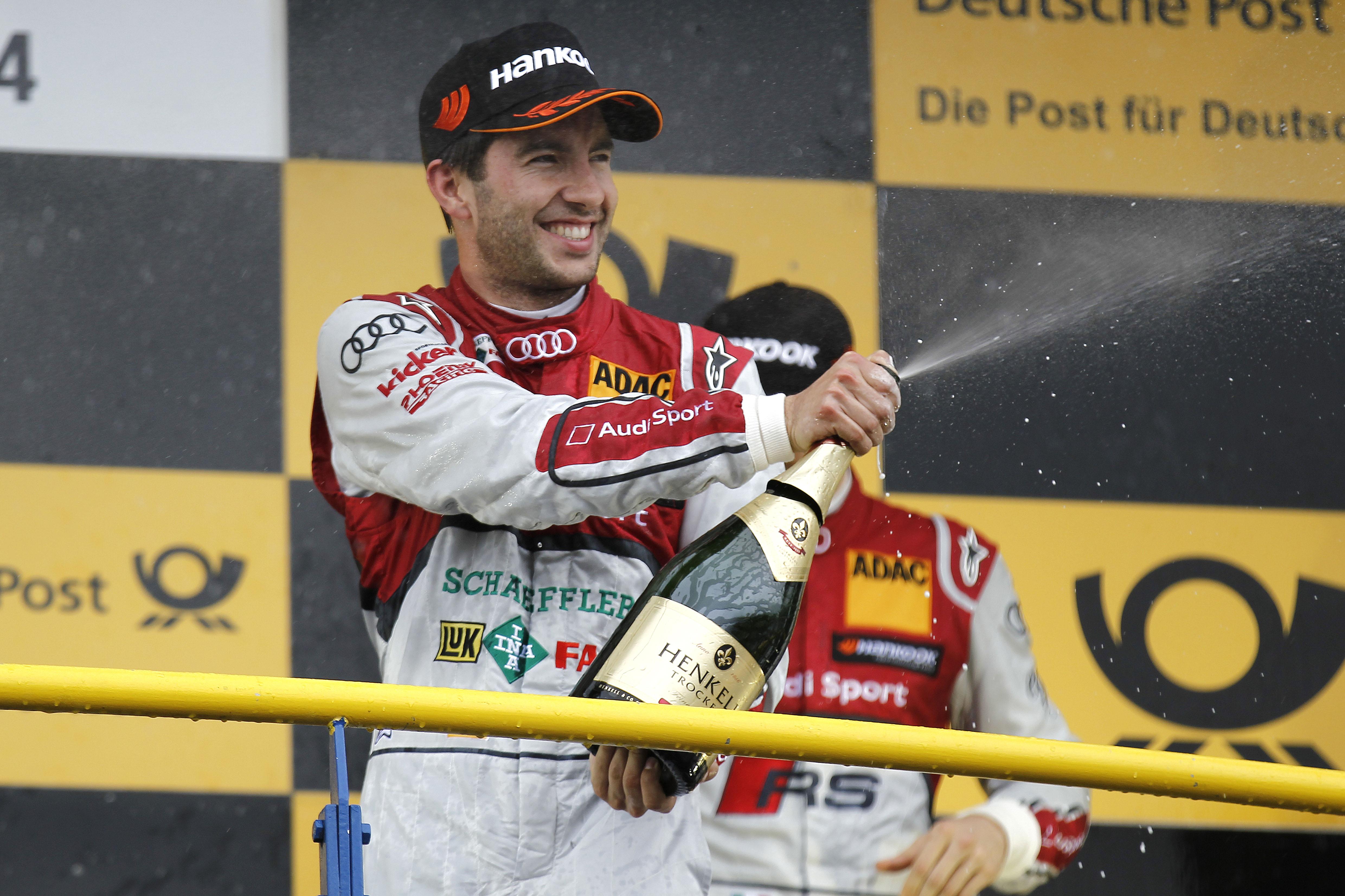 Deutsche Tourenwagen Masters (DTM)-Audi Sport Team- Mike Rockenfeller