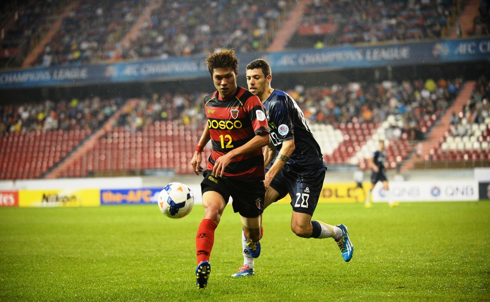 Three-time Asian champions Pohang Steelers shared a 0-0 draw with last year's finalists FC Seoul in last week's AFC Champions League quarter-final first leg.