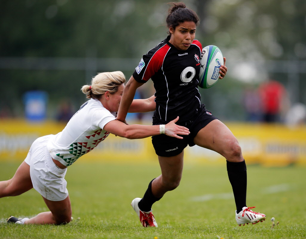 IRB Women's Player of the Year 2014 - Magali Harvey