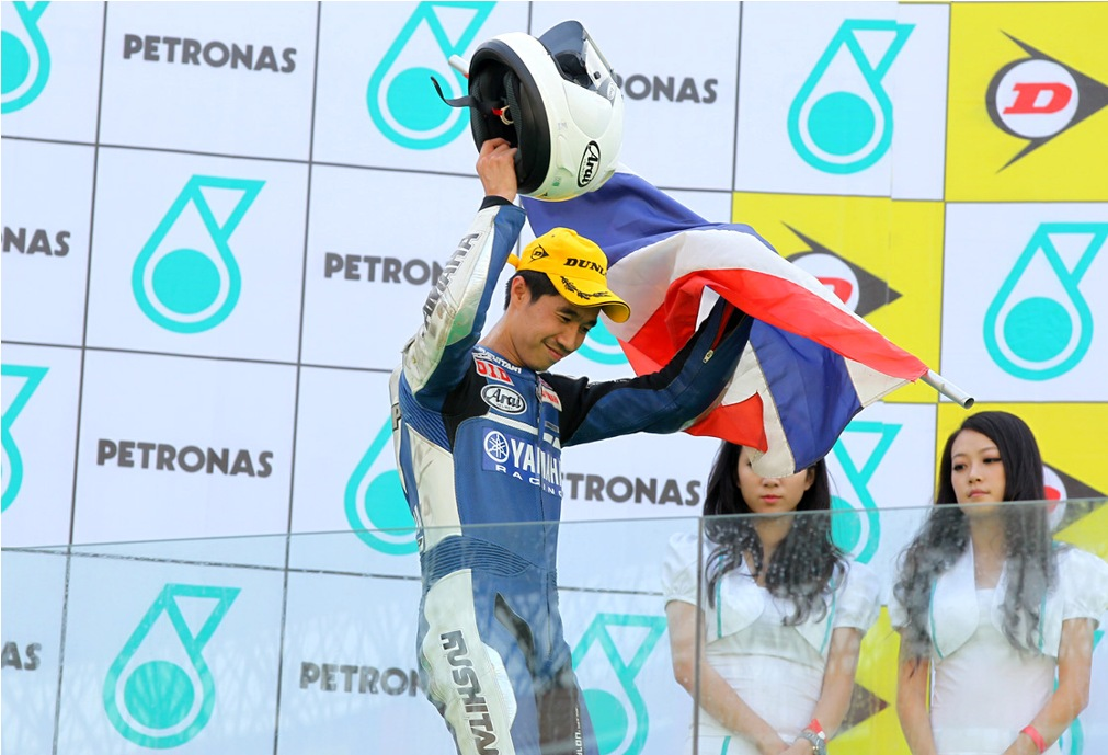 Chalermpol Polamai win race in Zhuhai 2011