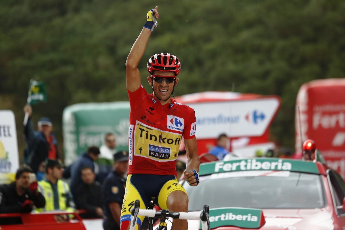 Contador wins 2014 Tour of Spain