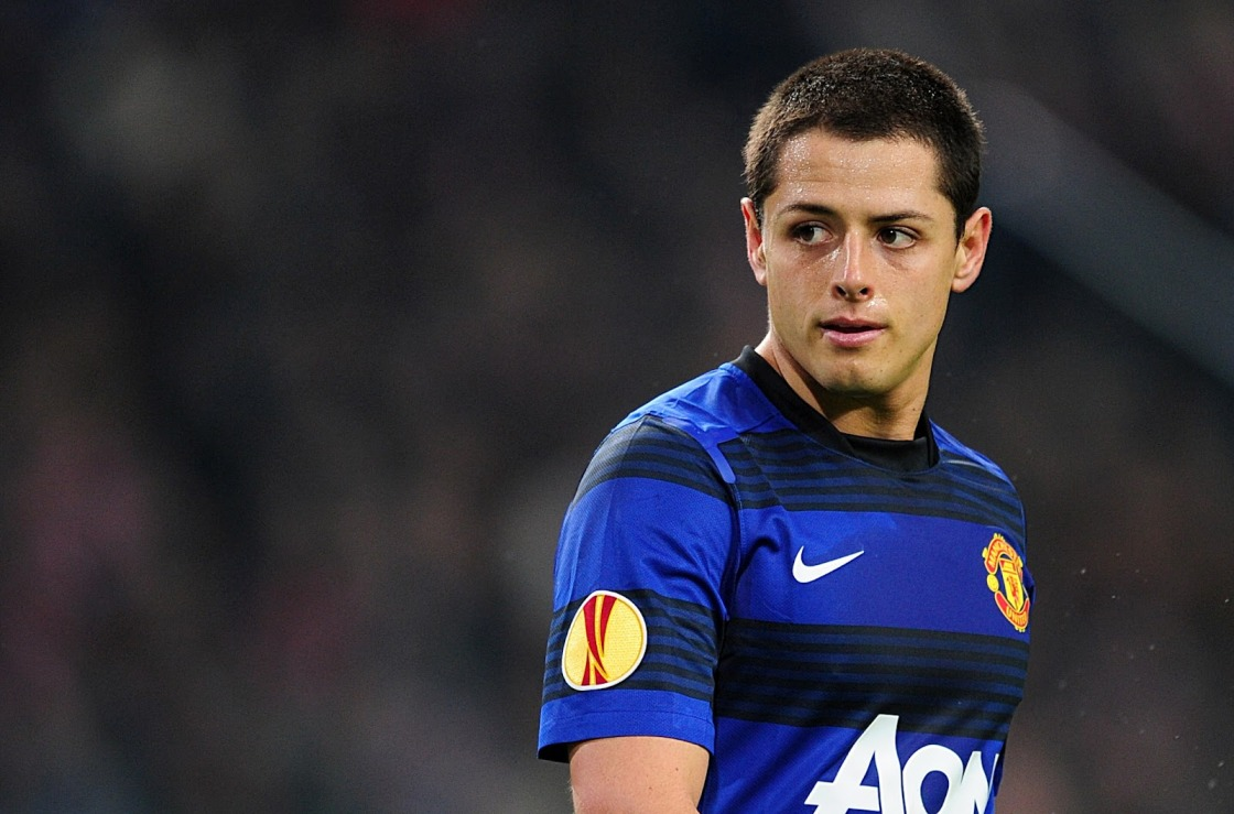 Javier Hernandez is on loan to Real Madrid.