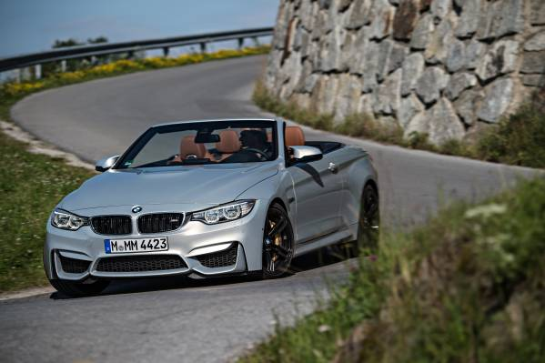 The new BMW M4 Convertible