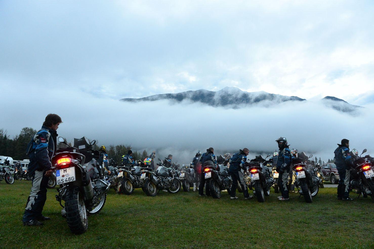 Heated battle at BMW Motorrad International GS Trophy North America 2014