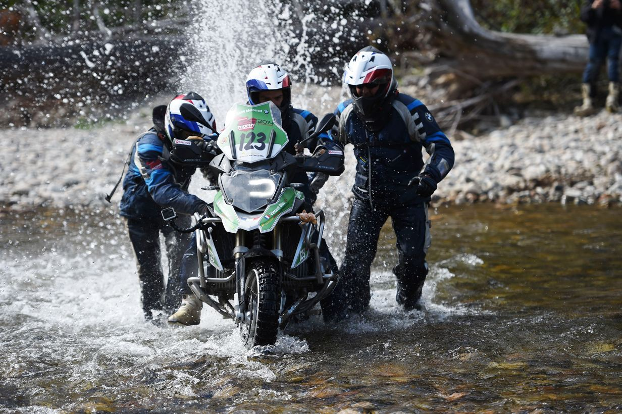 Team South Africa surged aat BMW Motorrad International GS Trophy