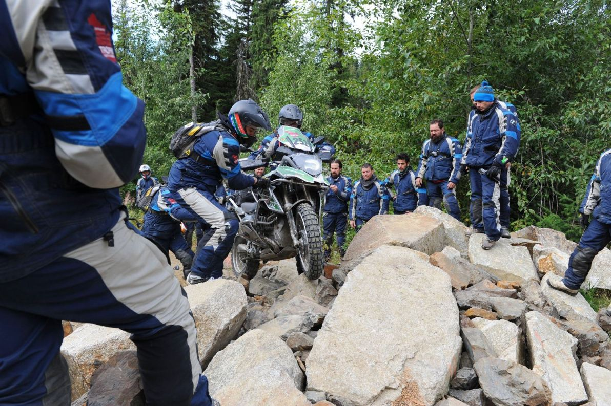 From Balfour to Fort Steele in BMW Motorrad International GS Trophy