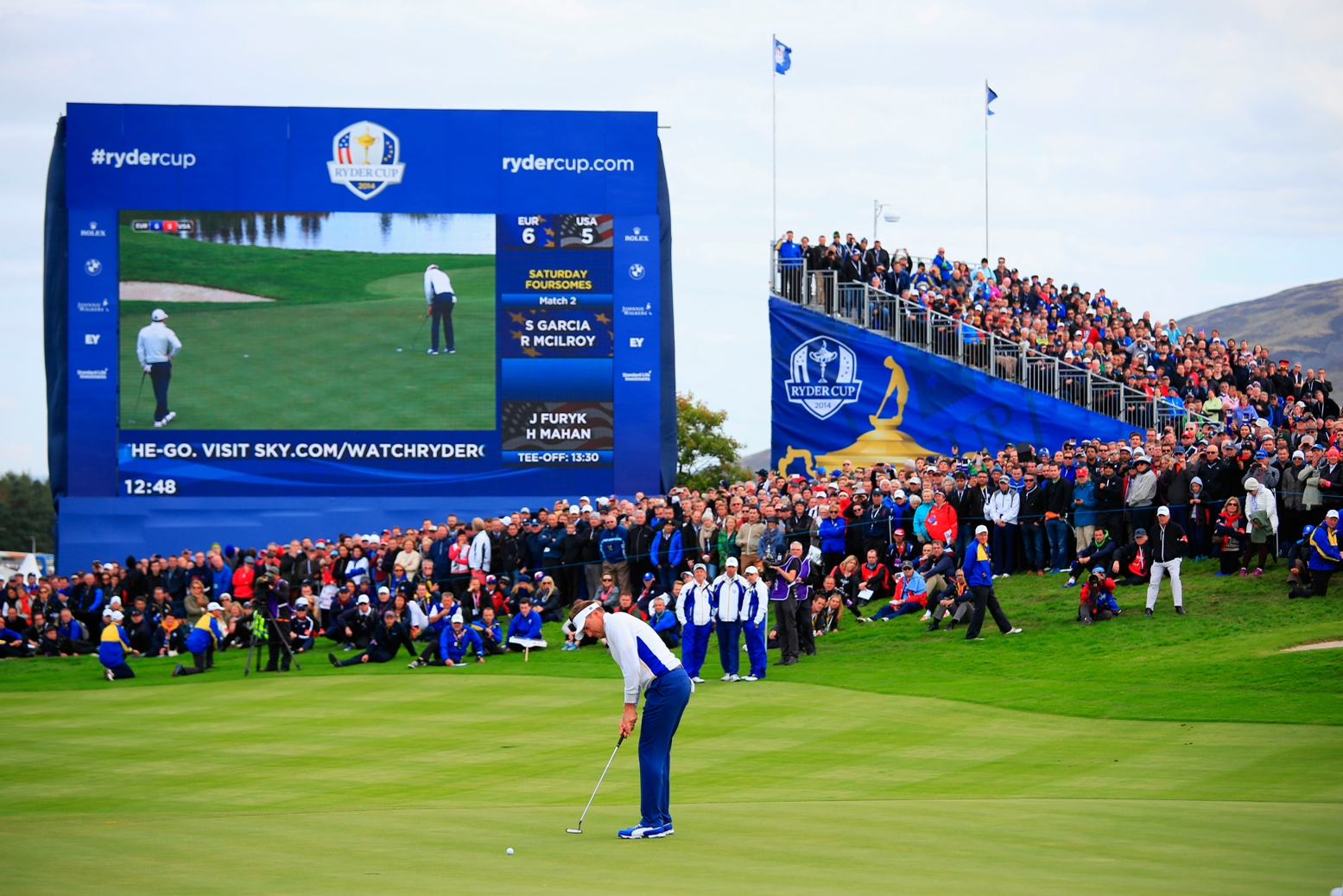 Europe defends Ryder Cup title in style in Gleneagles