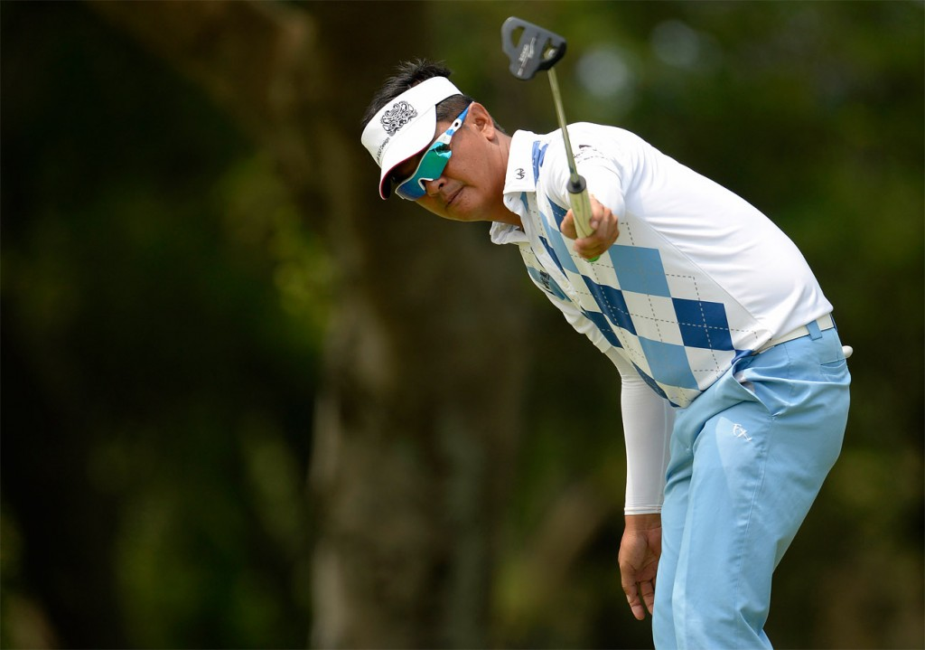 Lin Wen-tang (born 28 June 1974) is a Taiwanese professional golfer. Lin turned professional in 1996, and won for the first time as at the 1998 Hsin Fong Open. Picture by Paul Lakatos/Asian Tour.
