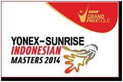 Yonex-Sunrise Indonesian Masters 2014