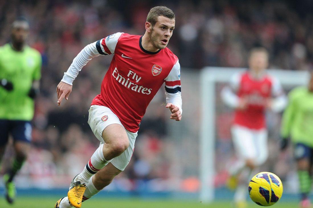 Arsenal's Jack Wilshere