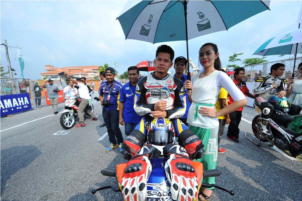 Emir Firdaus Hasan on the CP130 starting grid