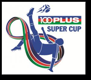 Kejohanan Bola Sepak Juara Sekolah 100PLUS Super Cup 2014 logo - w342