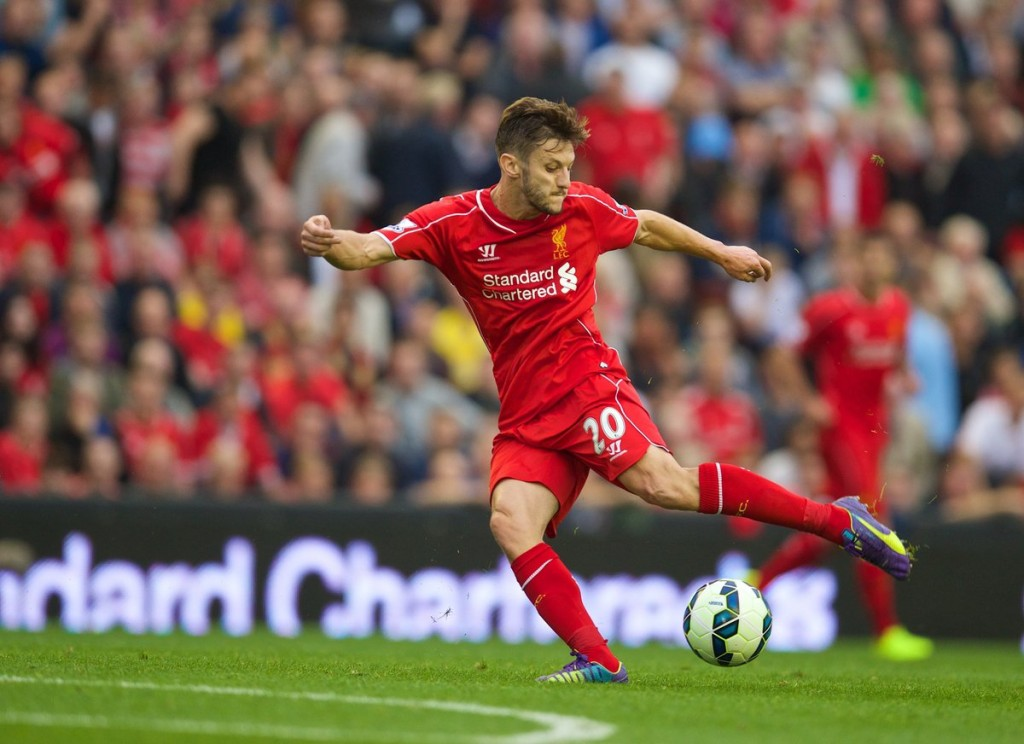 Liverpool.Adam Lallana