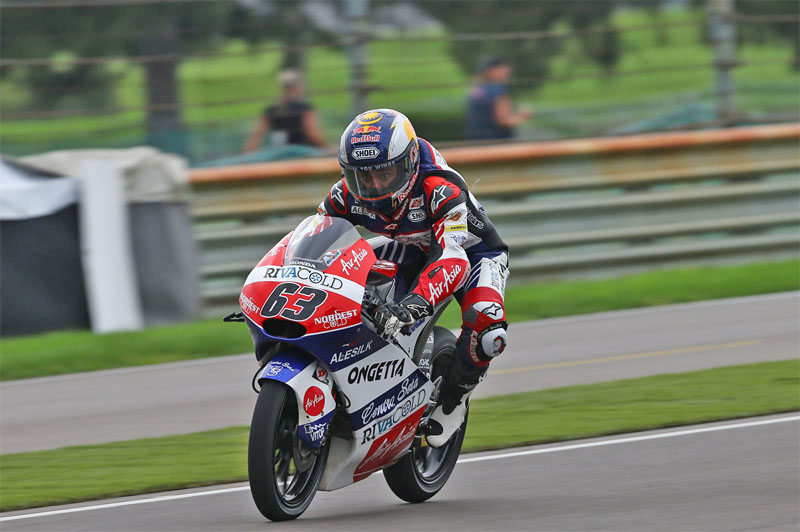 Muhammad Zulfahmi Khairuddin (born 20 October 1991 in Banting, Selangor, Malaysia) is a Malaysian motorcycle racer who currently competes in the Moto3 class in the Motorcycle World Championship.