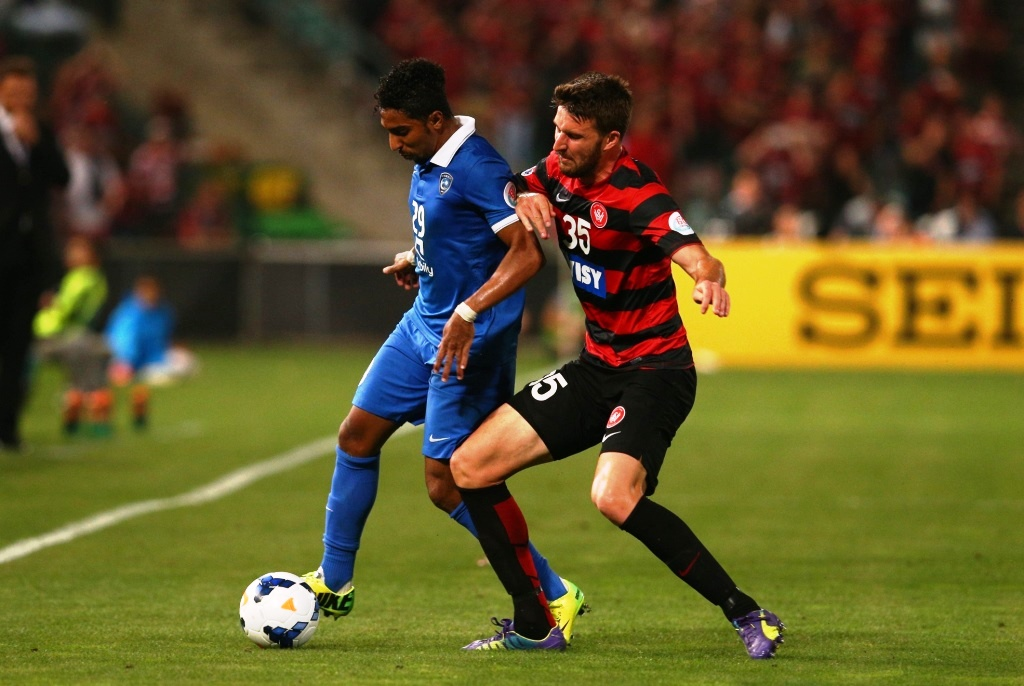 Defender Antony Golec has been a virtual ever-present for Western Sydney Wanderers in the AFC Champions League this season.
