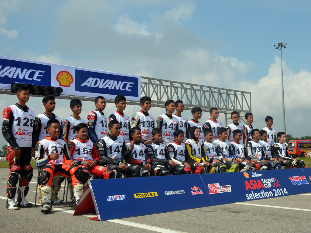 On Tuesday in Malaysia the second day of the Selection Event for the 2015 Shell Advance Asia Talent Cup took place.