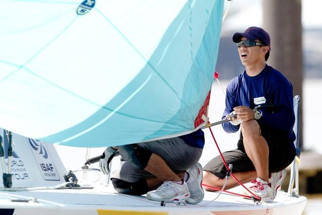 Jeremy Koo, 2011 winner- Malaysian Match Racing Championship 2012. Photo - Gareth Cooke - Subzero Images ©