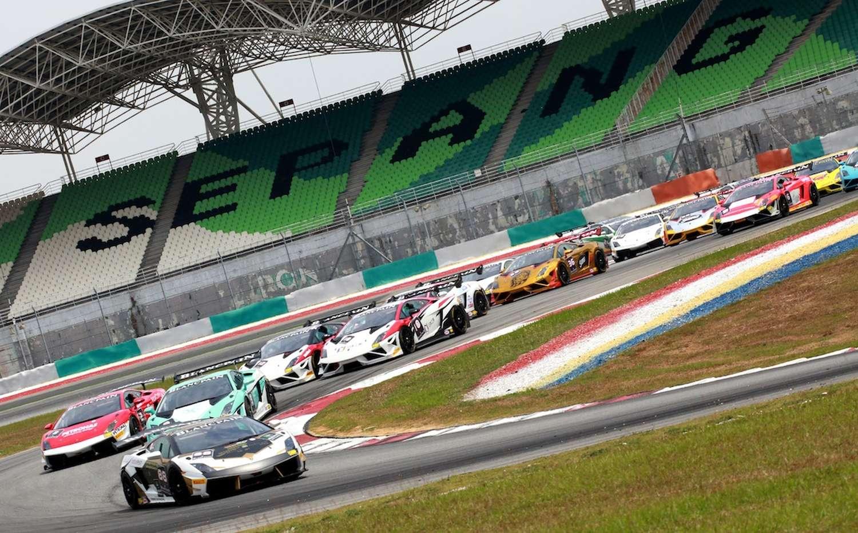 Lamborghini Blancpain Super Trofeo Asia Series Sepang Race 1