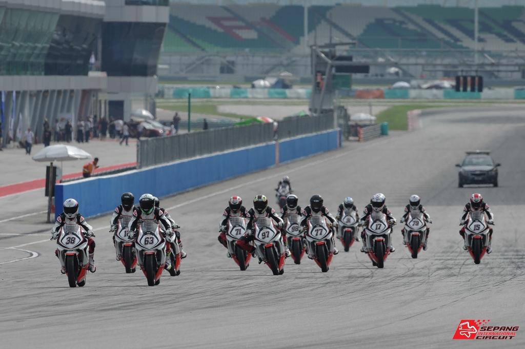 Malaysian Super Series Bikes - SIC Ninja 250 Cup