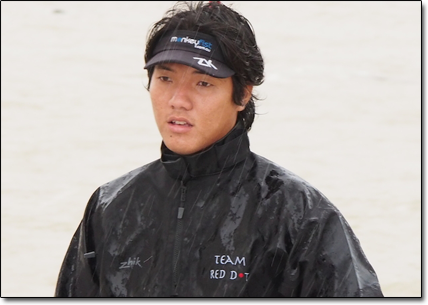 "Maximillian Soh ""We want to sail in as many races as we can get, and hopefully win""."