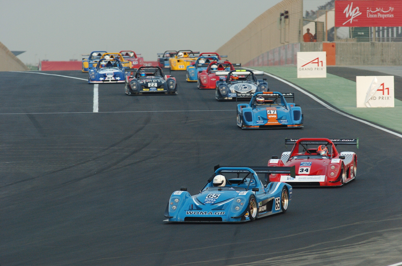 First Radical race in Dubai at the 2005 A1GP.