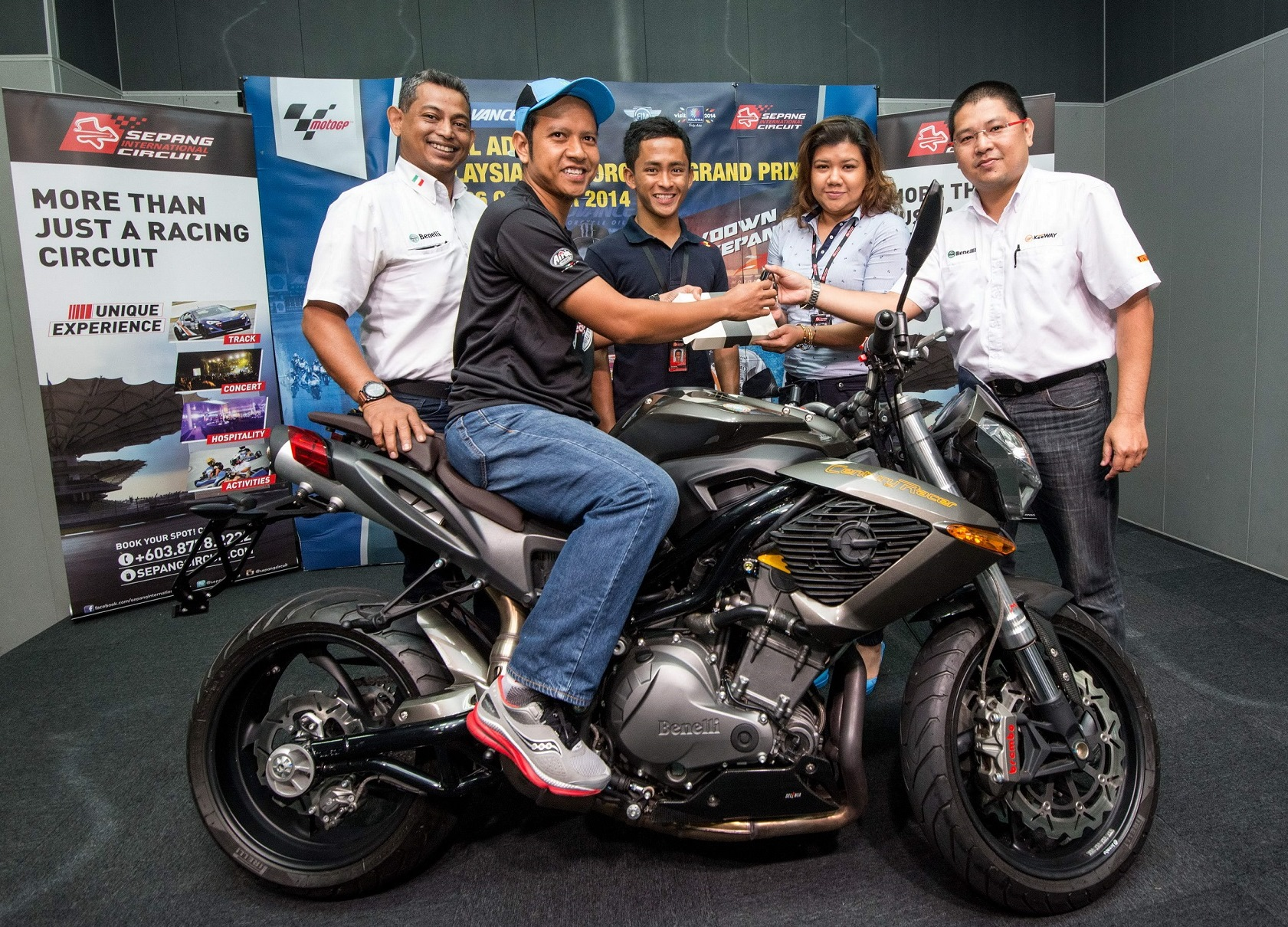 SIC-Benelli Bike Contest 2014