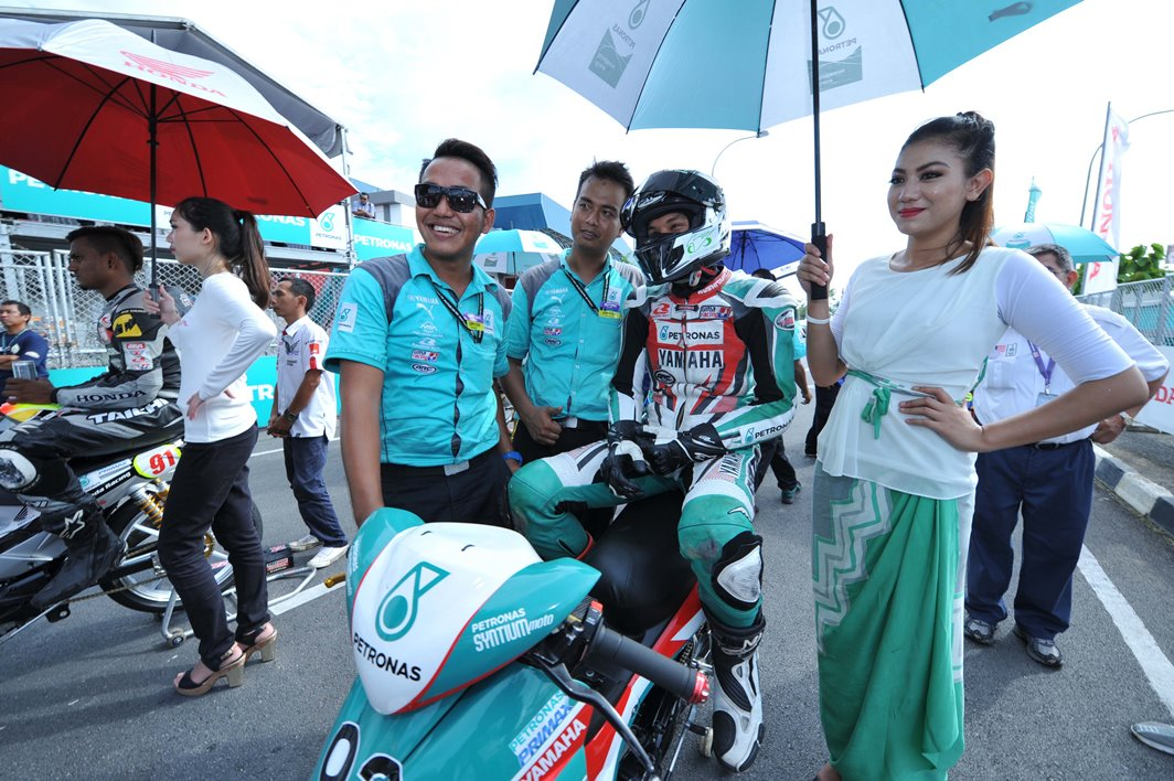 Taufiq Roslan on the CP130 starting grid