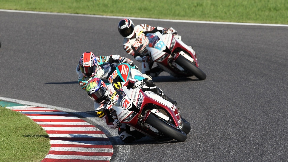 Zaqhwan in action at Suzuka