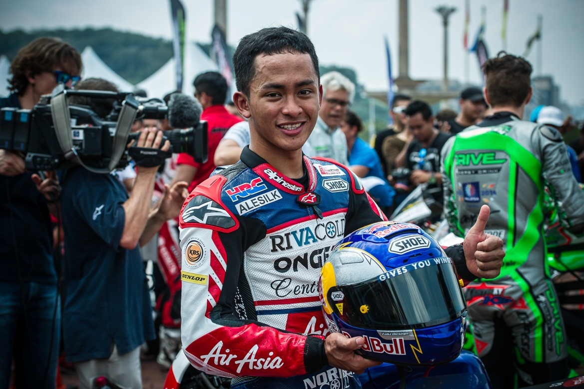 Zulfahmi Khairuddin, who was out of the points in Sepang, will be seeking for his best finish of the season in Valencia.
