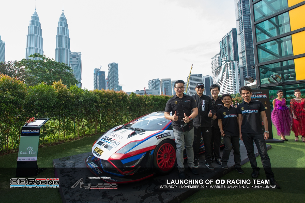OD Racing team, a team founded, run and funded by racing enthusiasts focusing on local talents, was officially launched today in Kuala Lumpur.