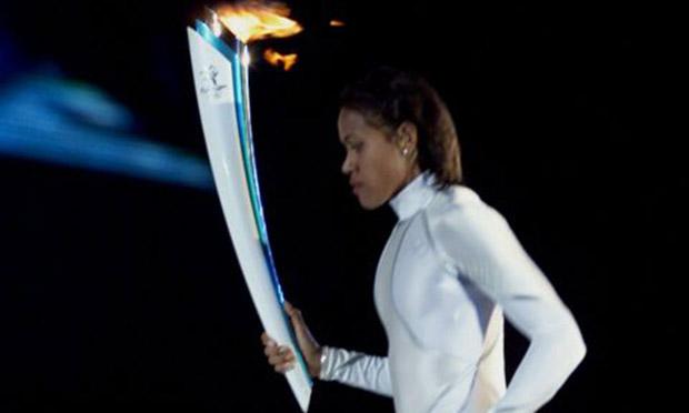Cathy Freeman bodysuit