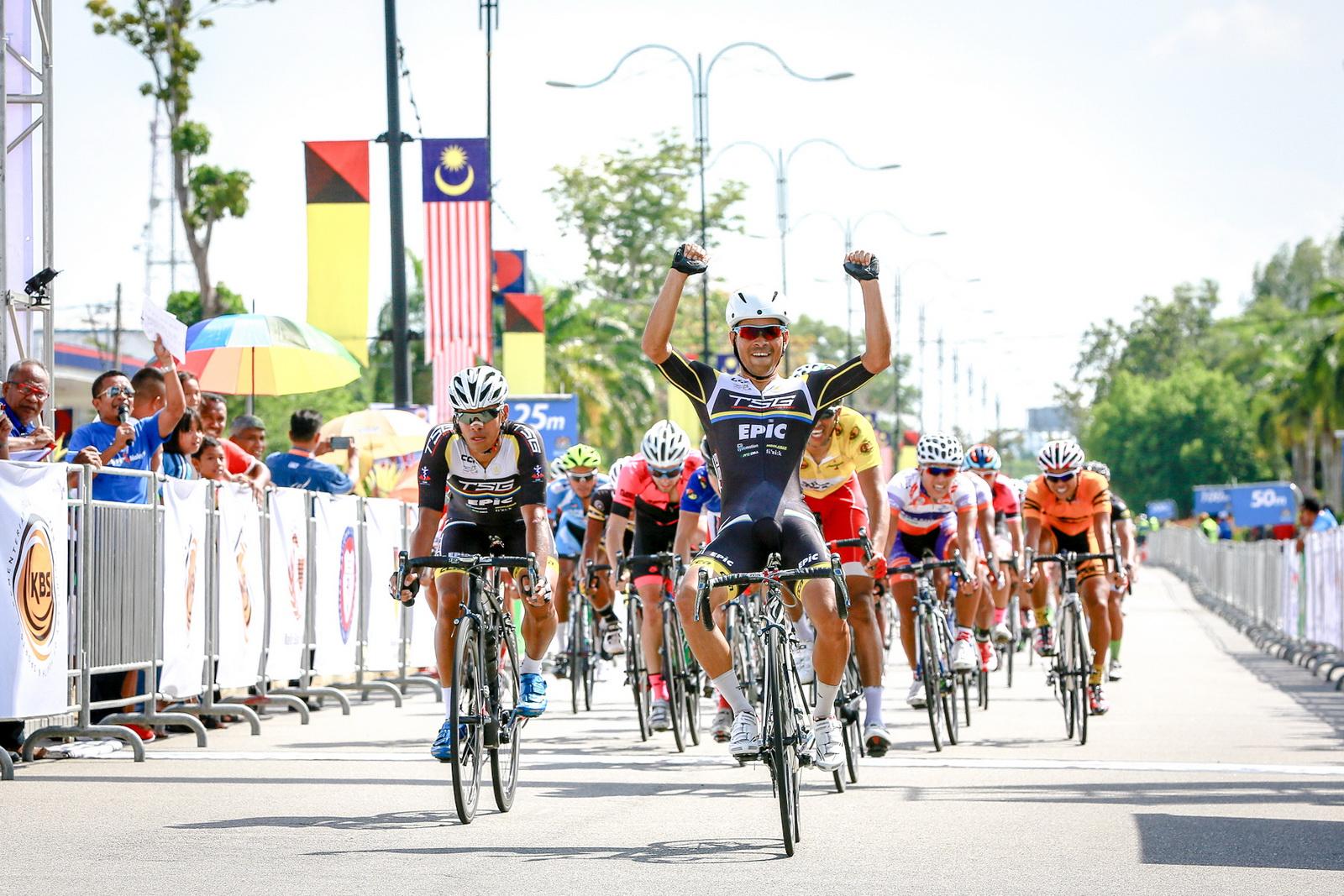 Jelajah Malaysia 2014 - Stage 2 - Winner