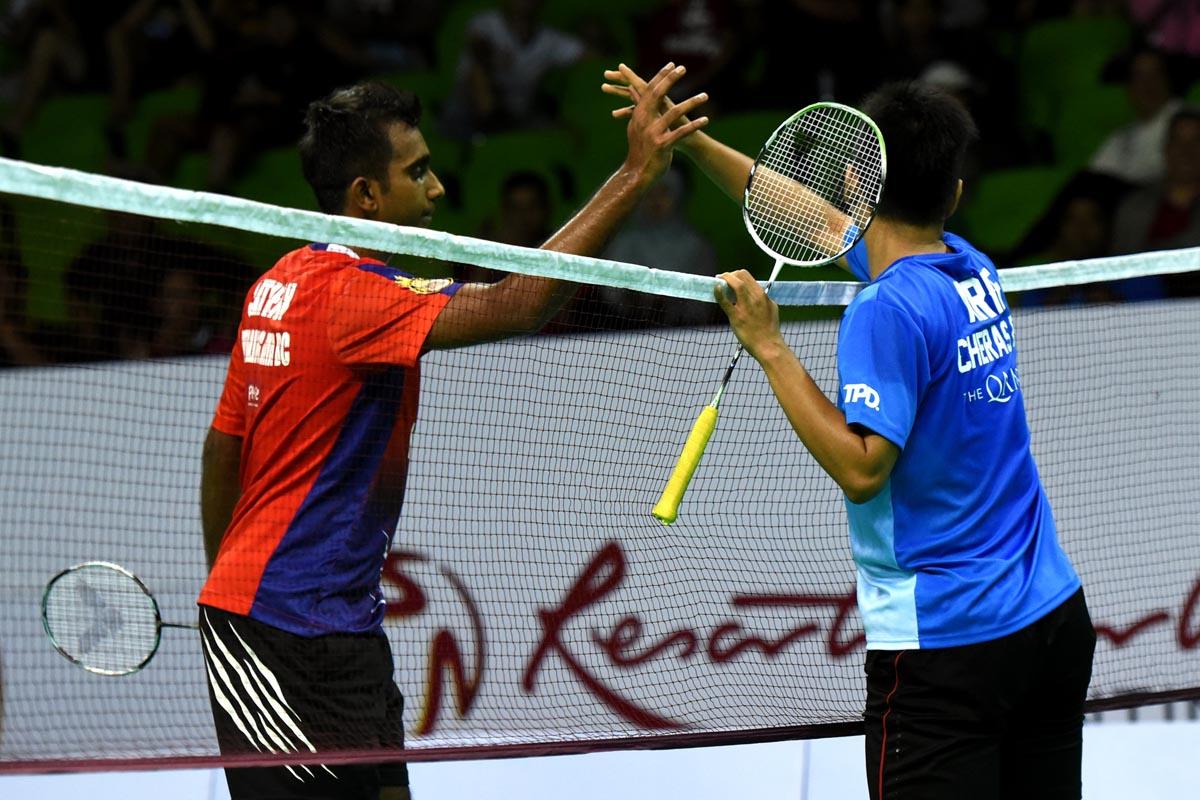 Satheistharan Buat Kelab Badminton Cheras Gigit Jari